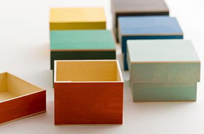 使用例:折箱のカラーリング